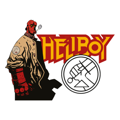 Vector logo Download Hellboy logo vector