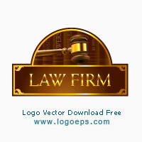 Vector logo Law Firm Template