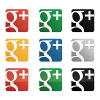 Vector logo Logo Google Plus Icon Pack vector download