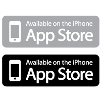 Available on the App Store logo vector