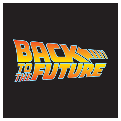 Back to the Future logo vector, logo Back to the Future in .EPS format