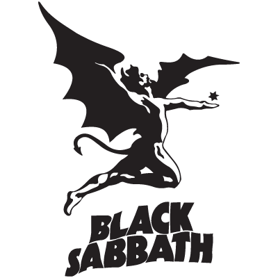 Black Sabbath logo vector