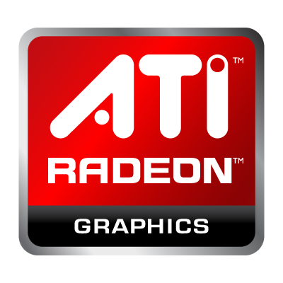 Vector logo Logo AMD Radeon vector download