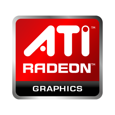 Vector logo Download ATI Radeon logo vector