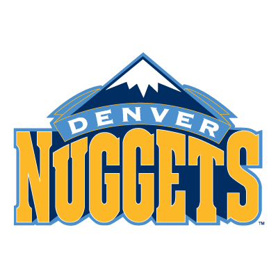Vector logo Logo Denver Nuggets vector download