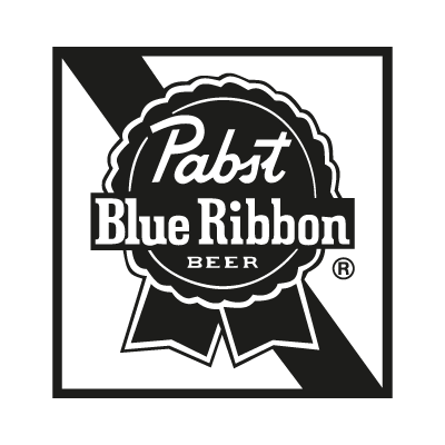Pabst Blue Ribbon vector logo