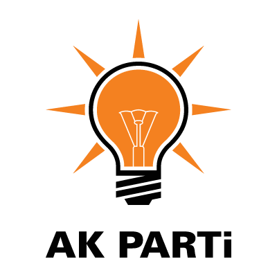 Vector logo Logo AK Parti vector download