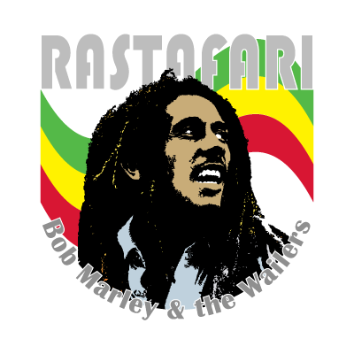 Vector logo Logo Bob Marley music vector download