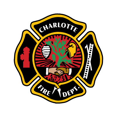 Vector logo Logo Charlotte Fire Department vector download