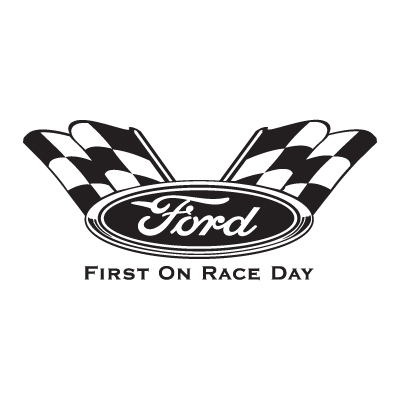 Vector logo Download Ford First On Race Day logo vector