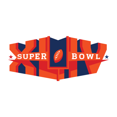 Vector logo Download Super Bowl XLIV logo vector