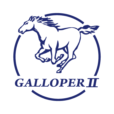 Galloper logo vector