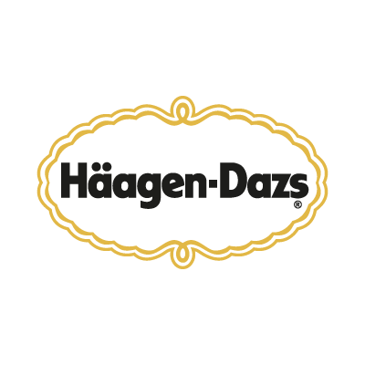 Vector logo Logo Haagen-Dazs vector download