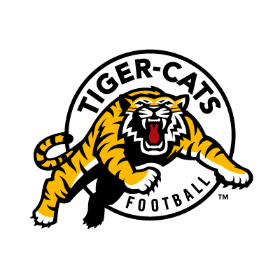 Vector logo Hamilton Tiger-Cats Football