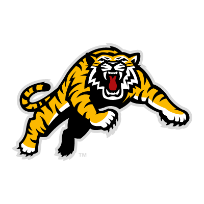 Vector logo Hamilton Tiger-Cats team