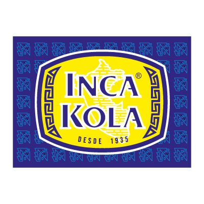 Vector logo Logo Inca Kola vector download