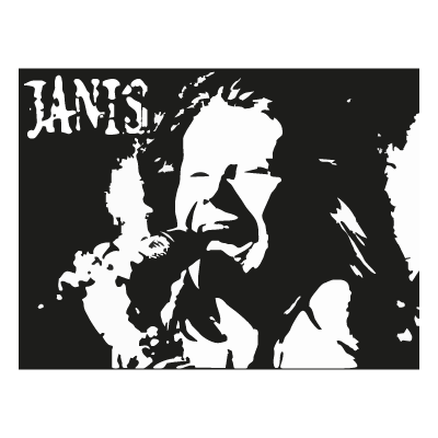 Vector logo Download Janis Joplin logo vector