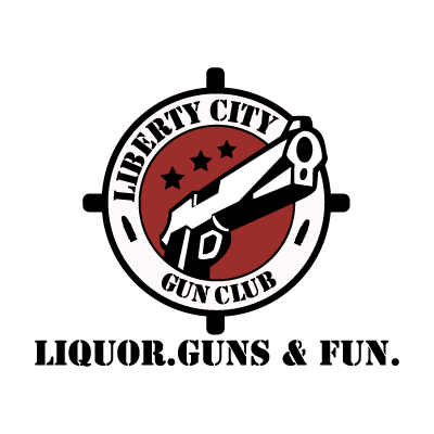 Vector logo Liberty City Gun Club