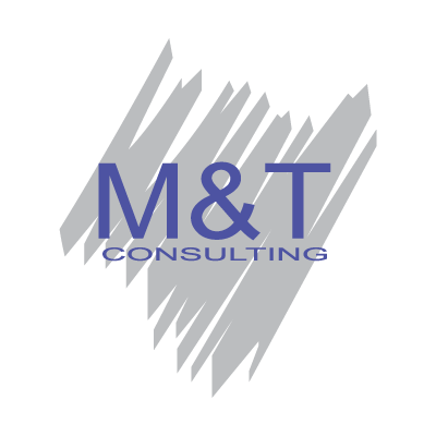 Vector logo M&T Consulting vector logo