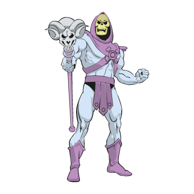 Master of the Universe - skeletor vector