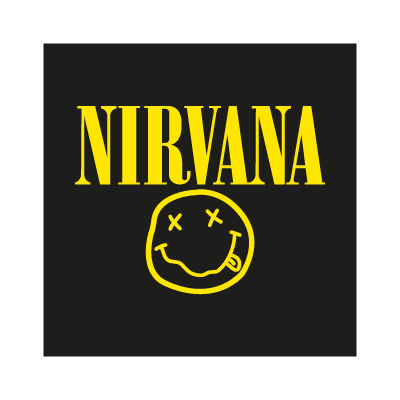 Vector logo Logo Nirvana vector download