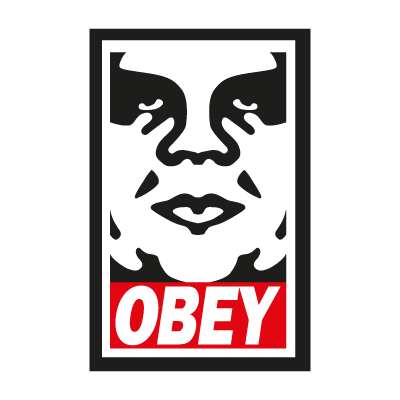 Vector logo Logo Obey the Giant vector download