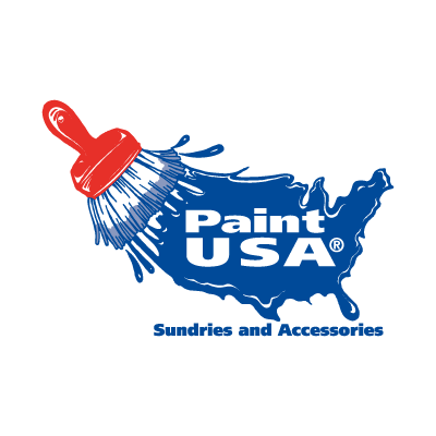 Vector logo Paint USA vector logo