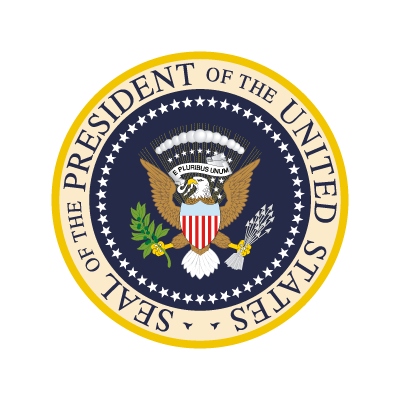 President Of The United States vector logo