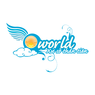 Q-world vector logo