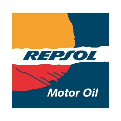 Vector logo Download Repsol Motor Oil logo vector
