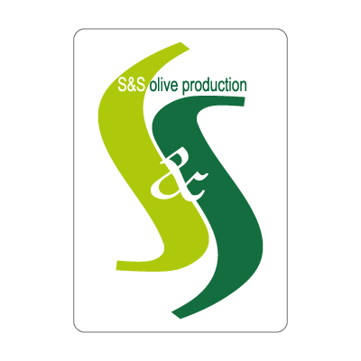 S & S olives vector logo