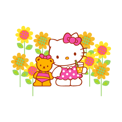 Sanrio - Hello Kitty vector logo