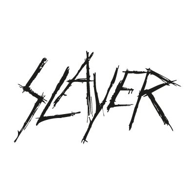 Vector logo Logo Slayer band vector download