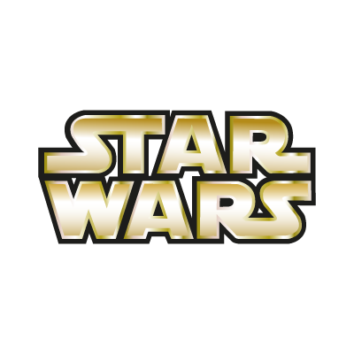 Vector logo Logo Star Wars Gold vector download