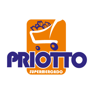 Supermercado priotto vector logo