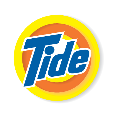 Vector logo Tide vector logo