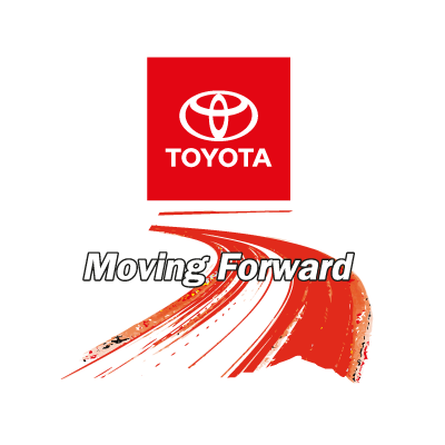 Vector logo Download Toyota Moving Foward logo vector