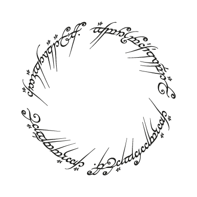 The One Ring vector logo