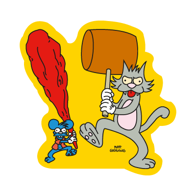 The Simpsons (Itchy & Scratchy) vector