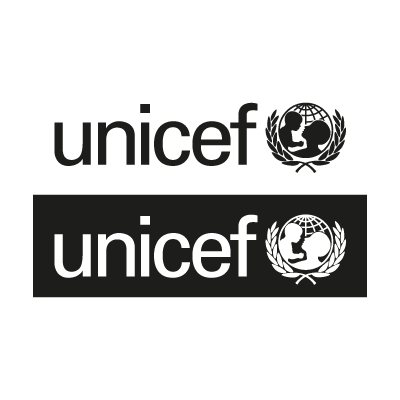 Unicef Black vector logo