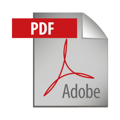 Adobe PDF Icon vector logo