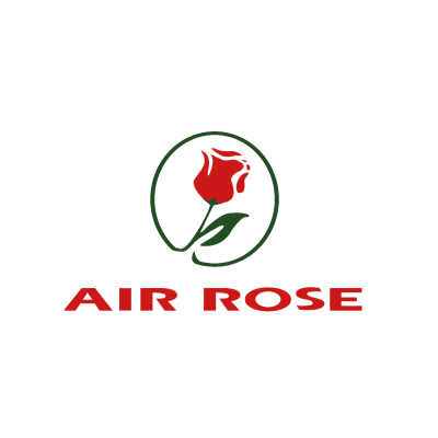 Vector logo Air Rose vector logo