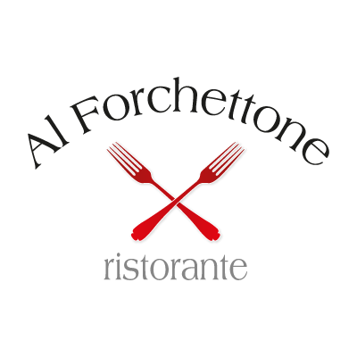Vector logo Al forchettone