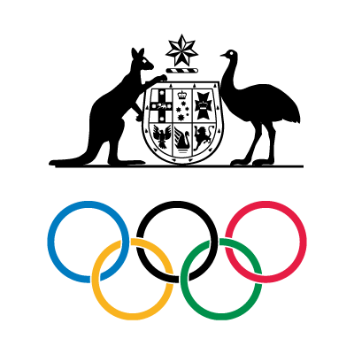 Vector logo Logo Australian Olympic Committee vector download