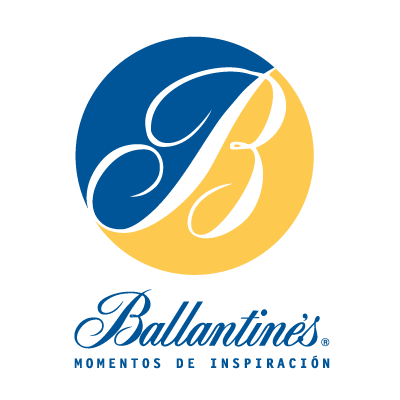 Vector logo Logo Ballantine's 50 vector download