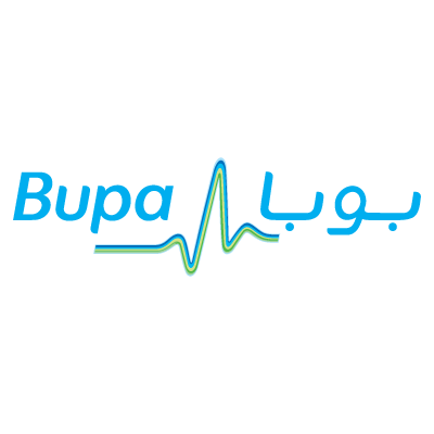 Vector logo Logo BUPA Middle East vector download