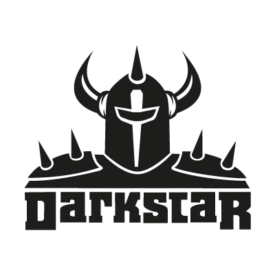 Darkstar Black vector logo