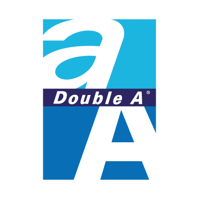 Double A Vector Logo Free Download Vectorlogofree Com