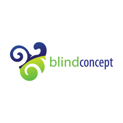 Blind concept logo template