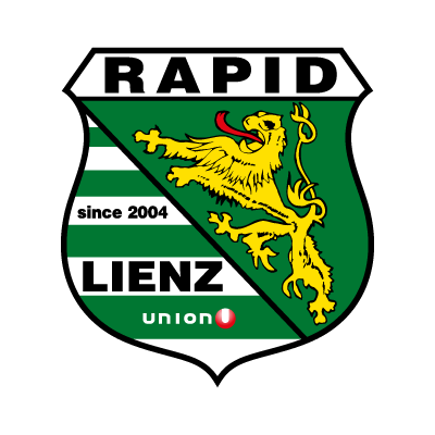 Vector logo Logo FC Rapid Lienz (Old) vector download